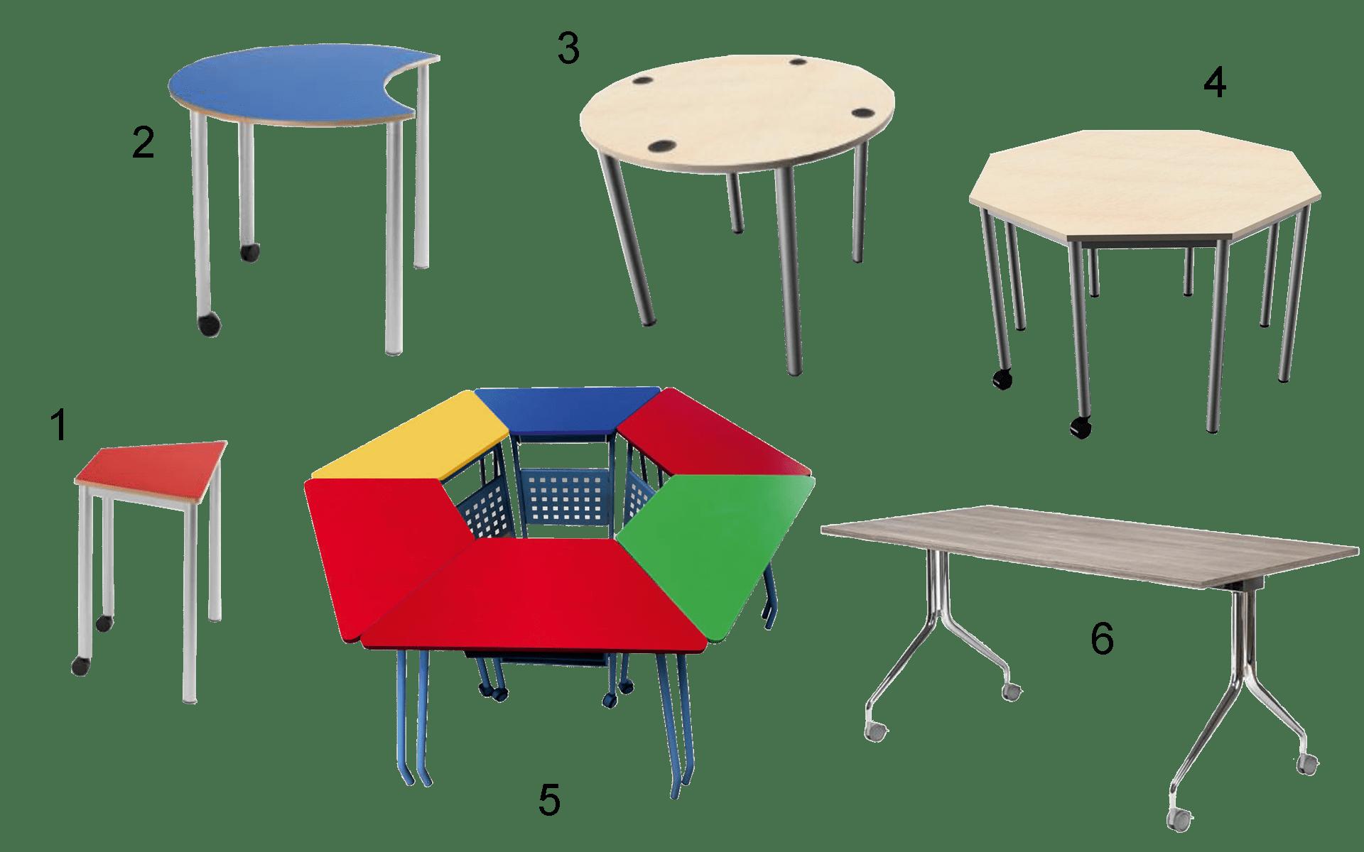 sedie banchi modulari 3.0