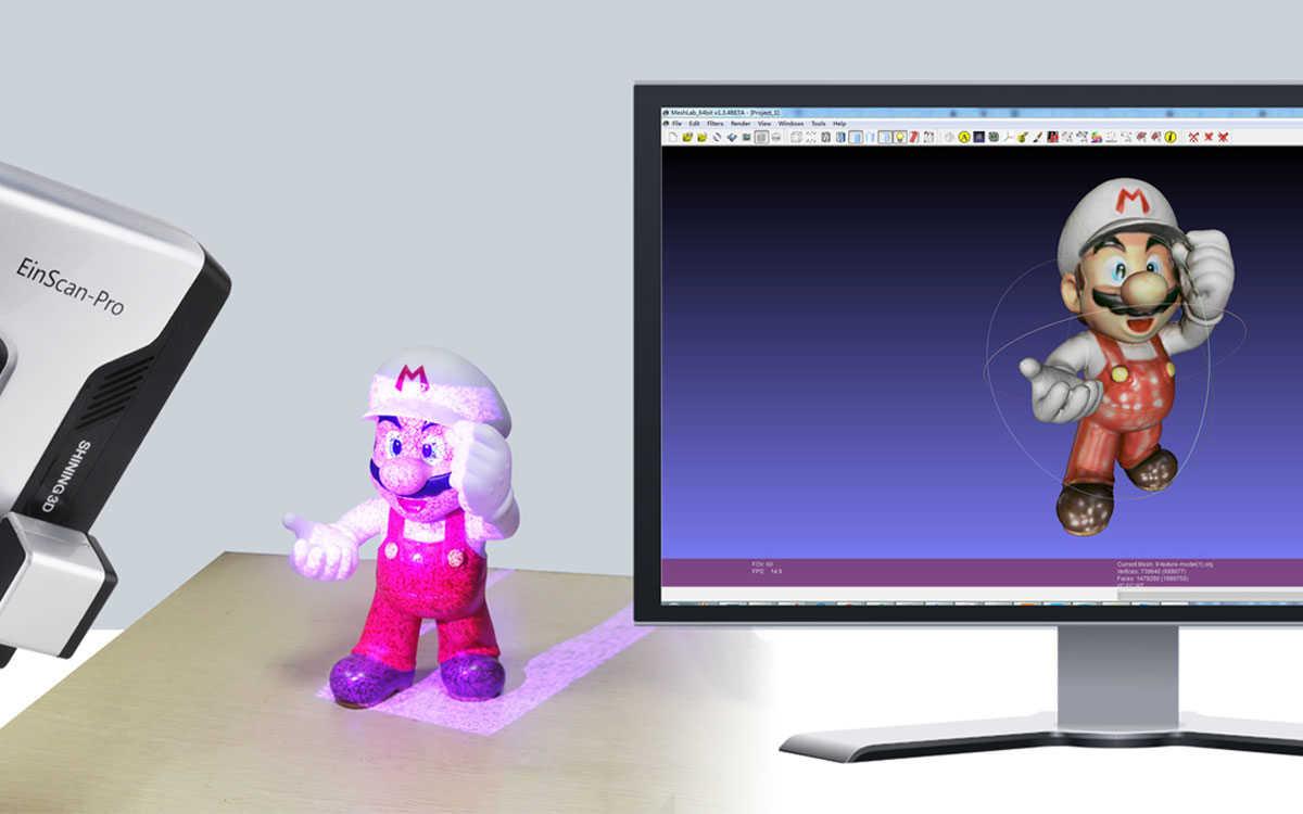stampante e scanner 3D